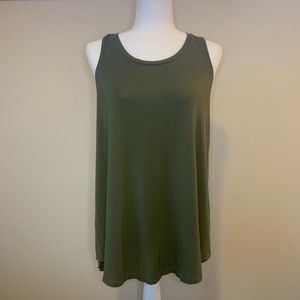 Olive Green Old Navy Luxe Tank
